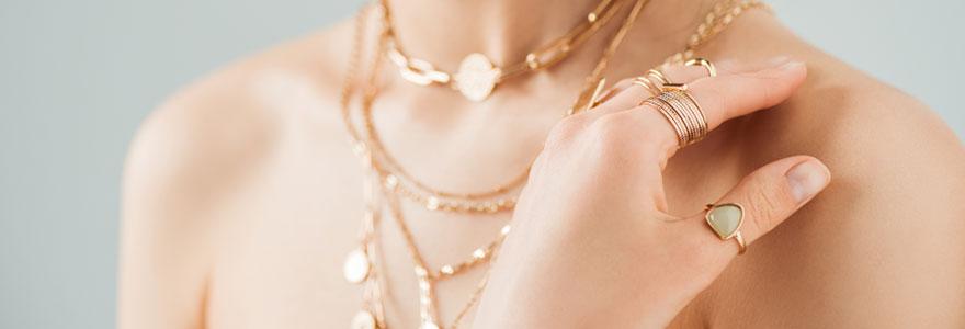 Bijoux fantaisie tendance pour femmes